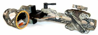 Extreme Raptor 911 D/T Dovetail Compond Bow Sight Realtree AP  (.019) w/ Light