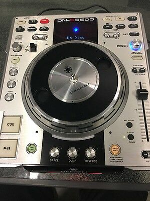 Denon DNS3500 DJ Tabletop CD and MP3 Player