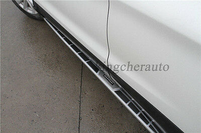fit NISSAN for Qashqai 2014-2017 new design running board side step nerf bar