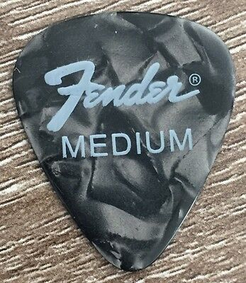 Fender™ Guitar picks Black x 30 - Medium (0.71mm)