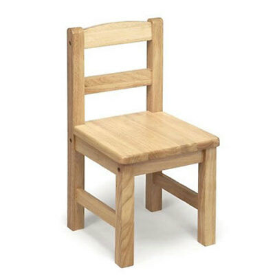 Tidlo : Classic Natural Wooden Child's Chair