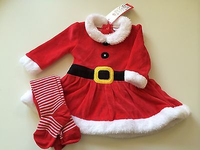 *Baby Clothes/  Baby Girls Christmas Dress 0/3 Months* (Save & Combine Postage)
