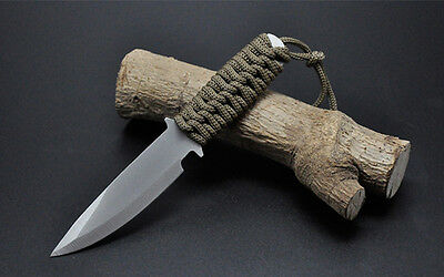 Fixed Blade Knife with Sheath Coltello militare