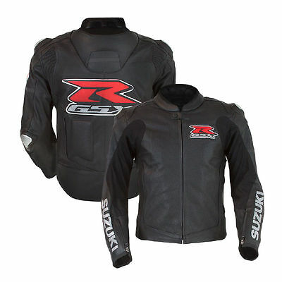 New Suzuki GSXR Motorcycle Leather Jacket Motorbike Jacket Jacket Racing XS-4XL