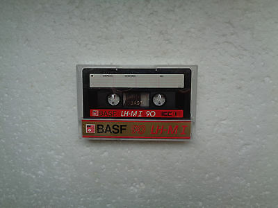 Vintage Audio Cassette BASF LH-MI 90 From 1985 - Fantastic Condition !!