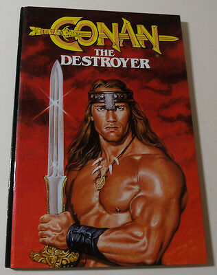 CONAN The Destroyer 1984 Annual Graphic Novel Marvel BOOK Michael Fleisher