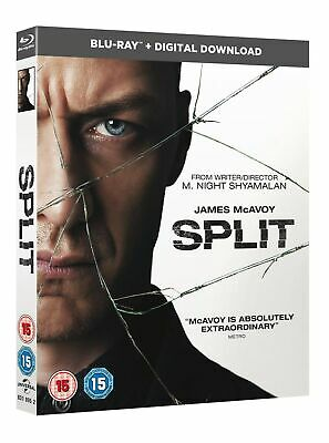 Split (with Digital Copy) [Blu-ray]