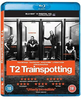 T2 Trainspotting (with UltraViolet Copy) [Blu-ray]