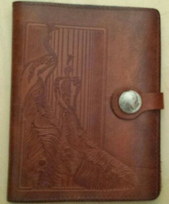 North Trail Address Book, leather