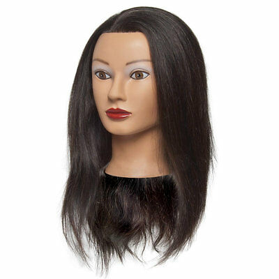 Reese Black Hair Female Mannequin Head
