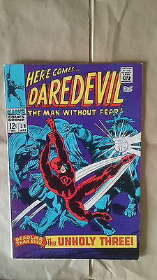 Marvel comics Daredevil #39 1968 FN/VF 1st print Cents Copy