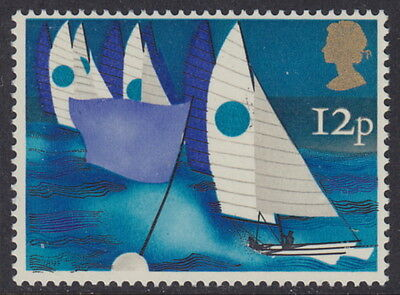 GREAT BRITAIN - 1975 12p Sailing ROSE COLOUR PARTIALLY OMITTED - UM / MNH