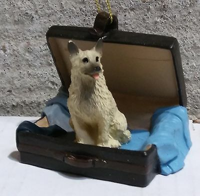 Victorian Trading Co Travel Companion Norwegian Elkhound Free Ship