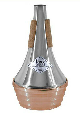 Faxx Copper Bottom Trumpet Straight Mute (FTM102) - Sound Clip Included