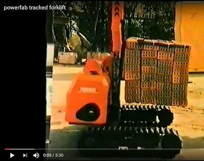 Starter Kit For Tracked Forklift, Distributor Wanted Business Opportunity