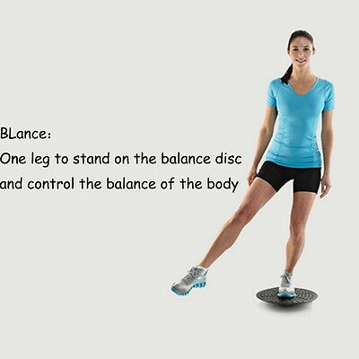 Gallant Yoga Wobble Balance Board Ankle Knee Exercise Balance Trainer Fitness