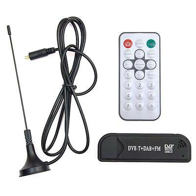 USB DVB-T + DAB + FM Radio Realtek RTL2832U R820T software defined SDR HDTV V