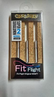 COSMO FIT SUPER DURALUMIN NORMAL LOCKED #2 SHAFTS 18mm  FOR FIT FLIGHTS ONLY