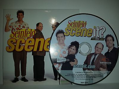 Seinfeld Scene It Board Game Replacement * Piece's / Parts * DVD & Cover