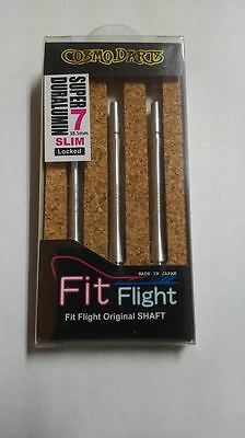 COSMO FIT SUPER DURALUMIN SLIM LOCKED #7 SHAFTS 38.5mm  FOR FIT FLIGHTS ONLY