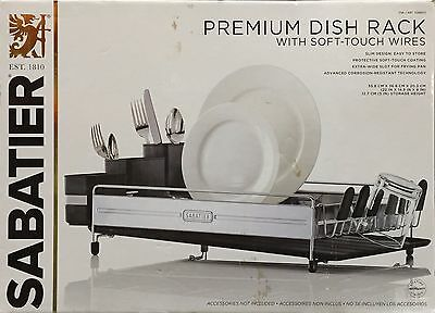 Sabatier Stainless Steel Premium Dish Rack With Soft Touch Wires ( From Toronto