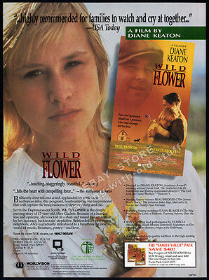 WILDFLOWER__Original 1992 Trade AD promo__PATRICIA ARQUETTE__REESE WITHERSPOON