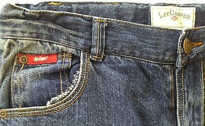 Lee Cooper Jeans Size 16 (Junior) W29in 74cm x L30 Straights, VG Undamaged Jeans
