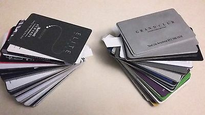 Lot of 100 Various NEW YORK CITY Hotel room key cards.