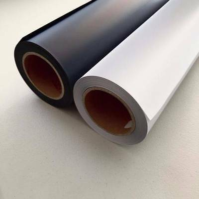 1m PU Vinyl Best Quality White Black Heat Transfer Film T-Shirt logo printing