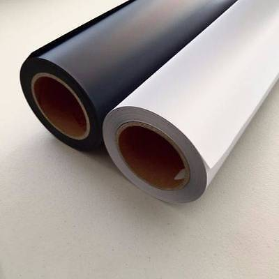 25m PU Roll Vinyl Best Quality White Black Heat Transfer Film T-Shirt printing