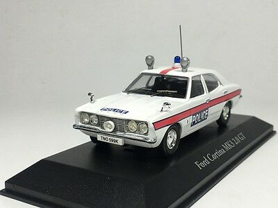 ATLAS 1:43 Ford Cortina MK3 2.0 GT Essex Police Best of British Police Cars