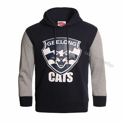 Geelong Cats 2017 AFL Kids Youth Logo Hoody Sizes 6-14 BNWT