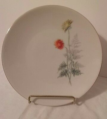 """Collectible Vintage Mitterteich Bavaria Small Salad Plate Made in Germany 7 5/8"""""""