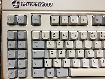 Vintage Gateway 2000 Anykey programmable keyboard - Clavier PS/2 rare et collect