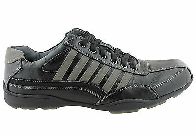 New Grosby Tourny Mens Lace Up Casual Shoes
