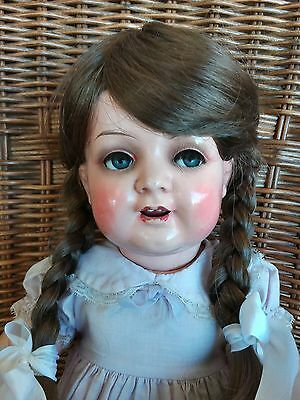 Antique German Kammer & Reinhardt Celluloid and composition toddler doll 22""