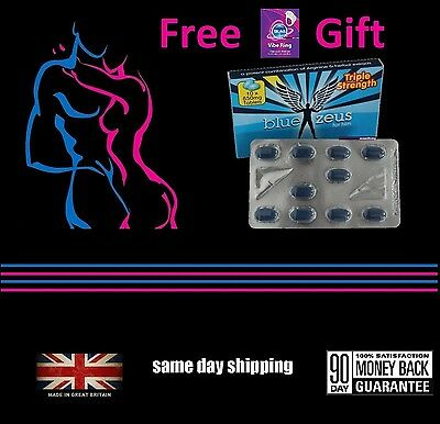 36 Left! Potent 850mg Sex Tablets + Free Action Ring Intense Prolonged Pleasure