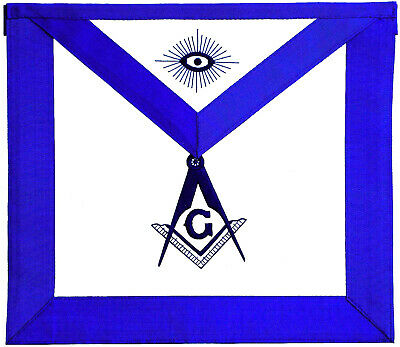 FREEMASON Master Mason Masonic **Embroidered** Apron $29 Lowest Price USA Seller