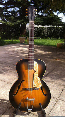Guitare de Jazz Vintage  An 50's