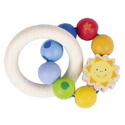 New Heimess Touch Ring Sun Rings Baby Rattle 736360 Wooden Toy