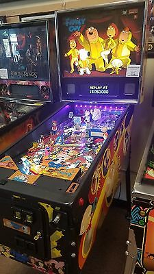 Family Guy Pinball Mcahine