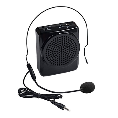 DuaFire Voice Amplifier Portable Microphone with Waistband for Teachers, Speaker