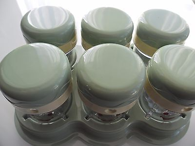 nutribullet baby by nutribullet,6 replacement date dial storage cups brand new