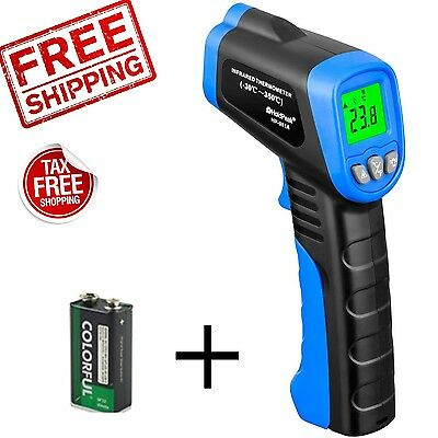 NonContact Temperature Gun Temp Meter Digital Infrared IR Laser Thermometer NEW