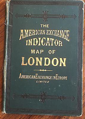 The American Exchange Indicator Map of London