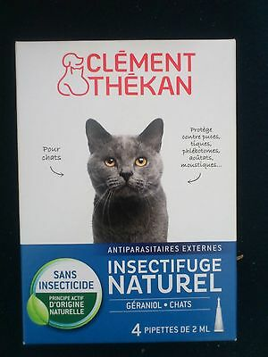 Anti-Puces Chat Naturel Clement Thekan Spot-On Chat