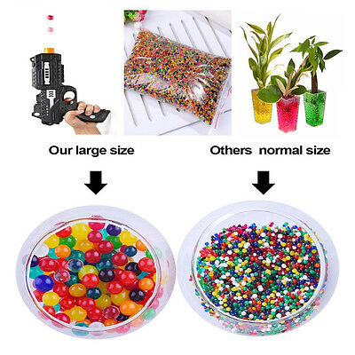 4 oz 10000 gel beads Water Beads Spa Refill Sensory ORBEEZ Toy Mixed Color New