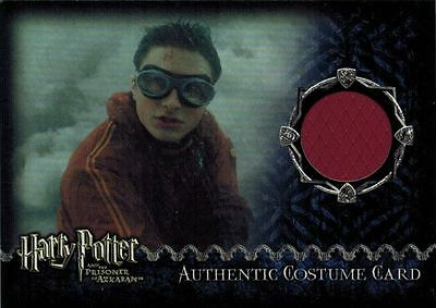 ~Harry Potter And The Prisoner of Azkaban: Costume Card worn by Daniel Radcliffe