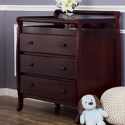Changing Table Dresser Baby Furniture Diaper Organizer Toddler Nursery Crib New