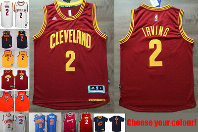 #2 Kyrie Irving Jersey Cleveland Cavaliers Cavs NBA S-XXL MESSAGE COLOUR